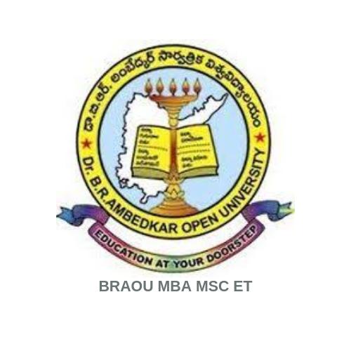 BRAOU MBA MSC ET Logo