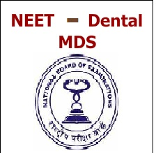 NEET MDS Logo