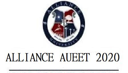 ALLIANCE AUEET 2020 Logo