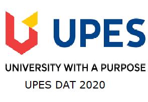 UPES DAT 2020 Logo
