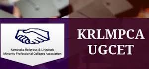 KRLMPCA UGCET Logo