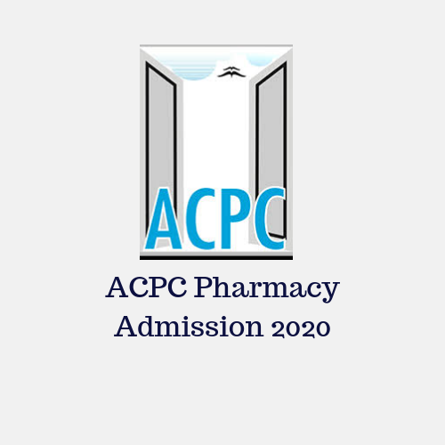 ACPC Pharmacy Admission 2020