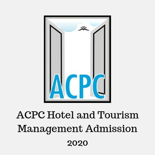 ACPC Hotel and Tourism Management Admission 2020
