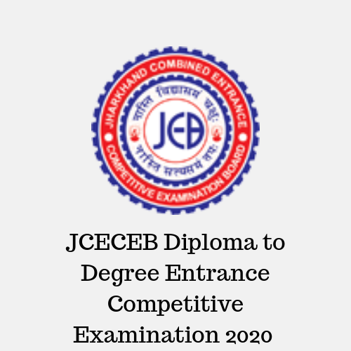 JCECEB Diploma to Degree Entrance Competitive Examination 2020