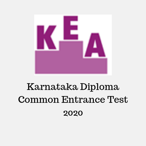 Karnataka Diploma Common Entrance Test 2020