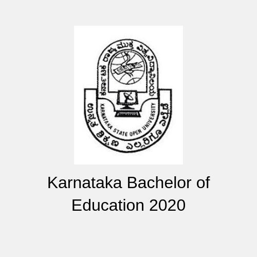 Karnataka Bachelor of Education 2020