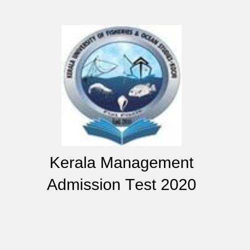Kerala Management Admission Test 2020