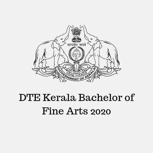 DTE Kerala Bachelor of Fine Arts 2020