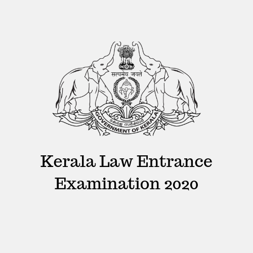 Kerala Law Entrance Examination 2020