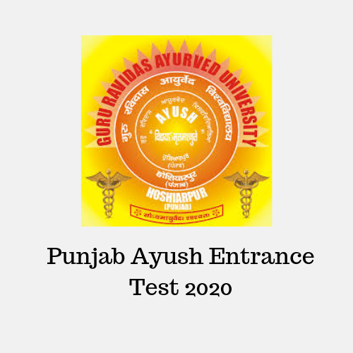 Punjab Ayush Entrance Test