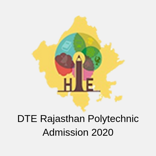 DTE Rajasthan Polytechnic Admission 2020