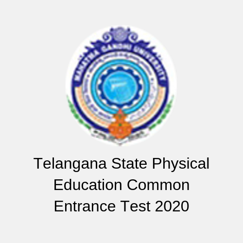 Telangana State Physical Education Common Entrance Test 2020
