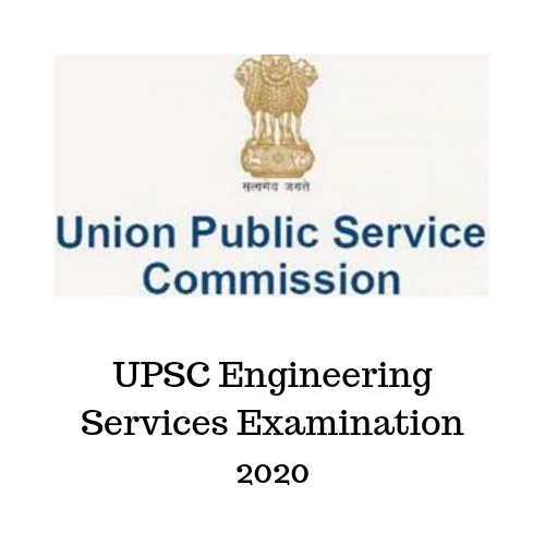 UPSC Engineering Services Examination 2020