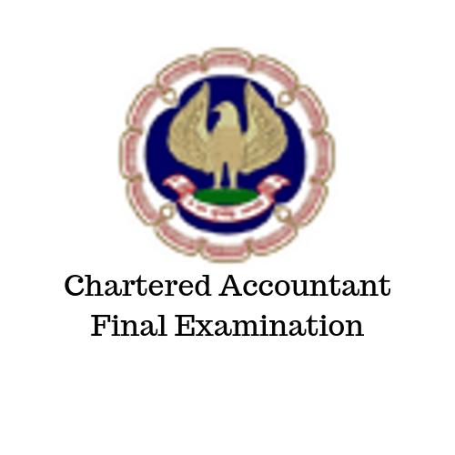 Chartered Accountant Final Examination
