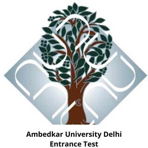 Ambedkar University Delhi Entrance Test Logo