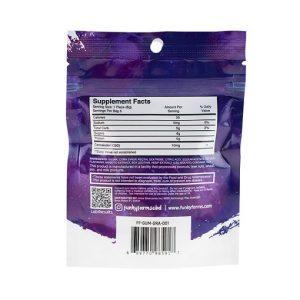 FF Grape CBD Gummies 1pk Back