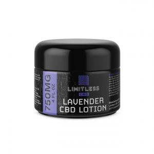 Limitless CBD Revive Lotion Lavender 750 mg 4 oz Front View 1