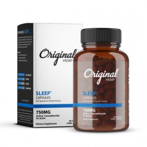 Original hemp sleep capsules