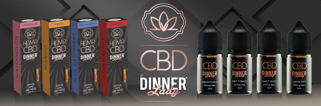 Dinner Lady CBD Banner