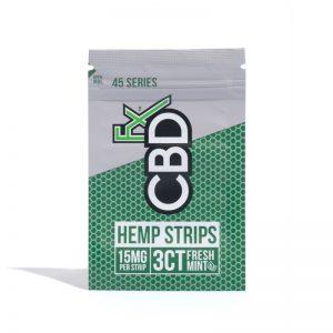 CBDfx Hemp Strips 15mg