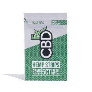 CBDFx Hemp Strips 25mg