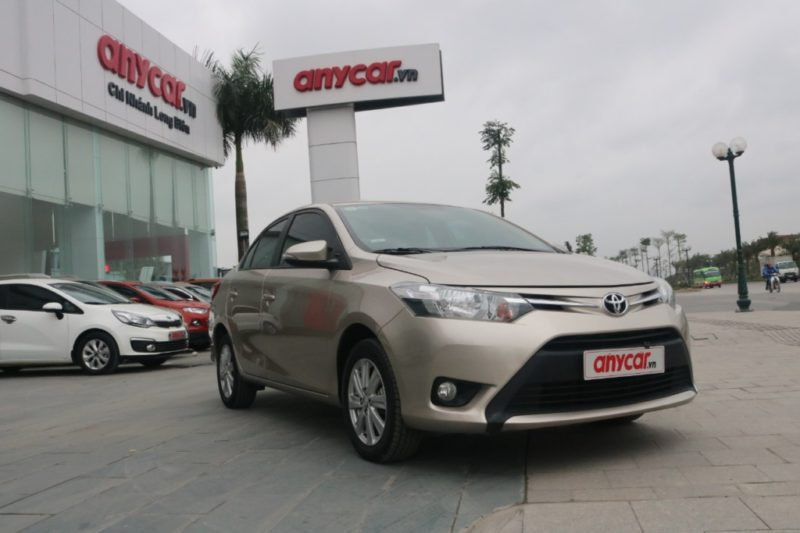 Toyota Vios 1.5AT 2017 - 1