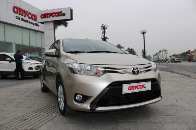 Toyota Vios E 1.5MT 2017 - 1