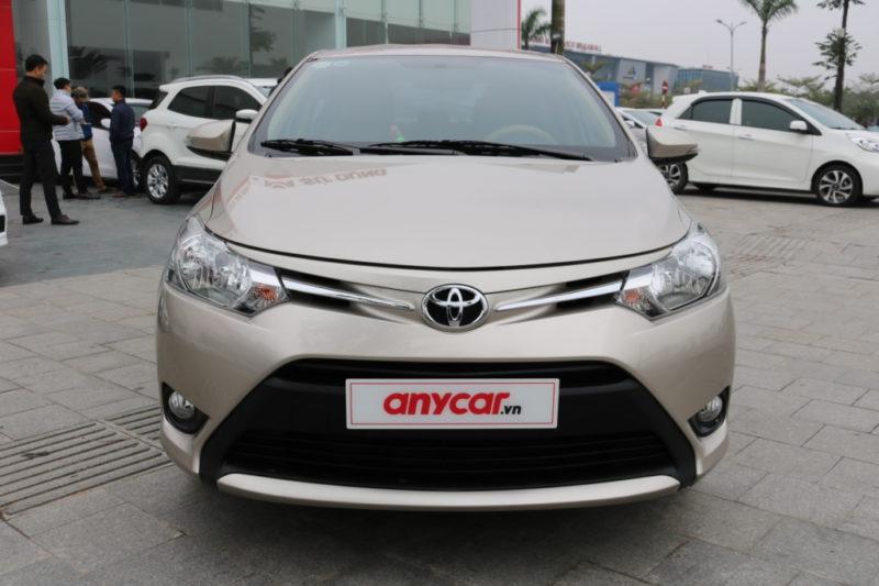 Toyota Vios E 1.5MT 2017 - 2