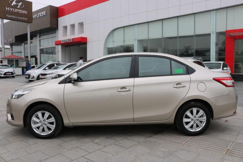 Toyota Vios E 1.5MT 2017 - 4
