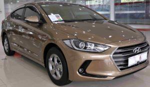 Hyundai Elantra GLS 1.6AT 2017