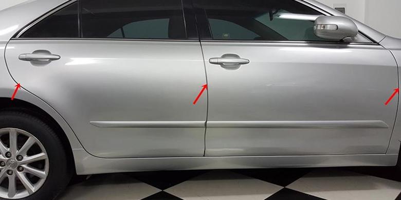 Kiểm tra khe hở các cửa ô tô