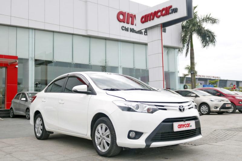 Toyota vios cũ gía dưới 400 triệu
