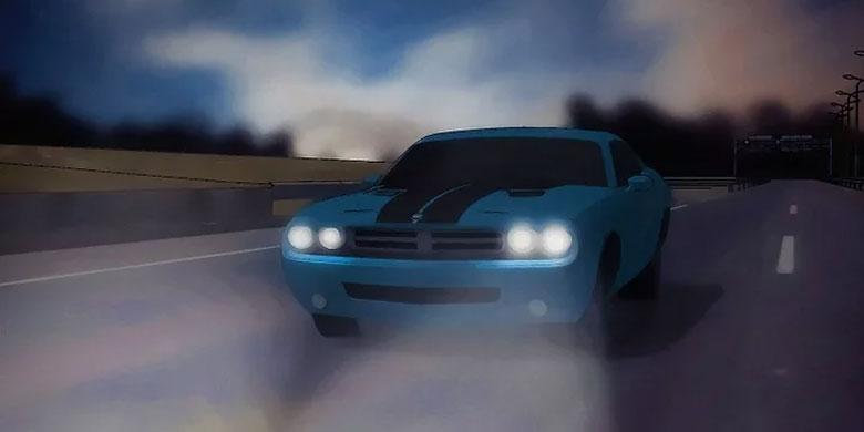 Khi trời tối, hãy bật đèn xe ô tôlên!