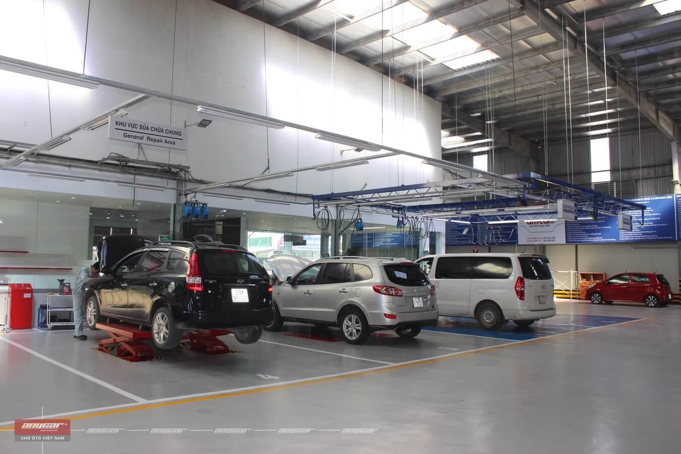 dịch vụ bảo dưỡng xe ô tô