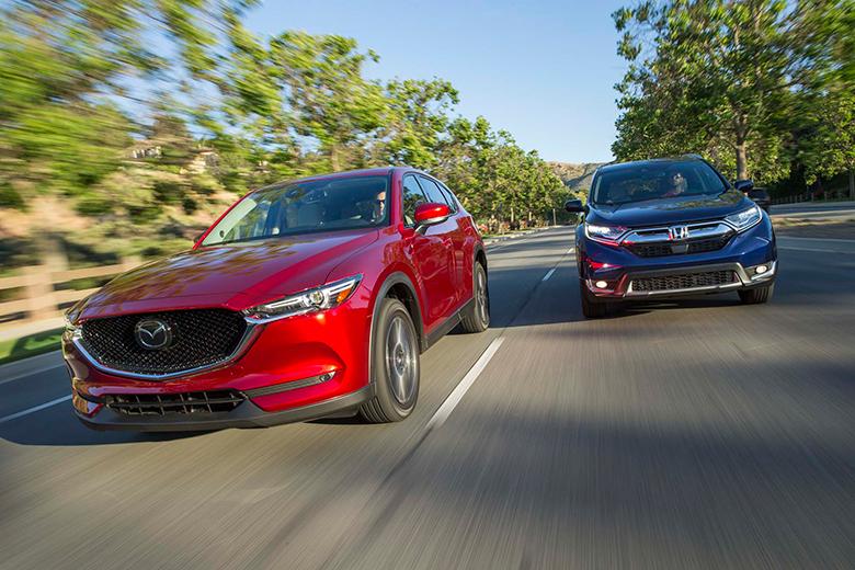 Mazda CX-5 và Honda CR-V Xe Ô Tô SUV Cũ Nào Tốt - 3