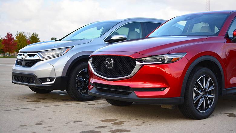 Mazda CX-5 và Honda CR-V Xe Ô Tô SUV Cũ Nào Tốt - 2