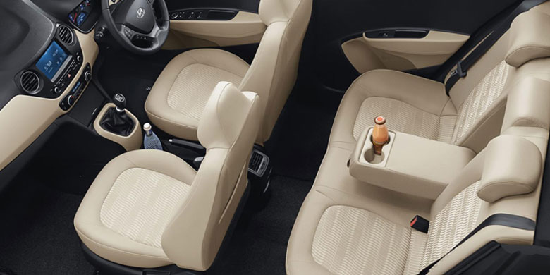 Nội thất Hyundai i10 2018