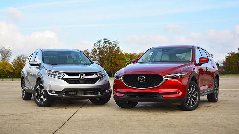 Mazda CX-5 và Honda CR-V Xe Ô Tô SUV Cũ Nào Tốt - 1