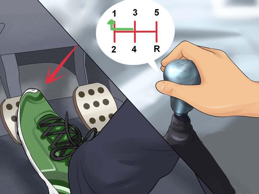 Hướng dẫn cơ bản tự học lái xe số sàn - 11
