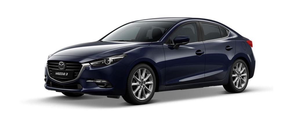 Mazda 3 2019 màu xanh đen