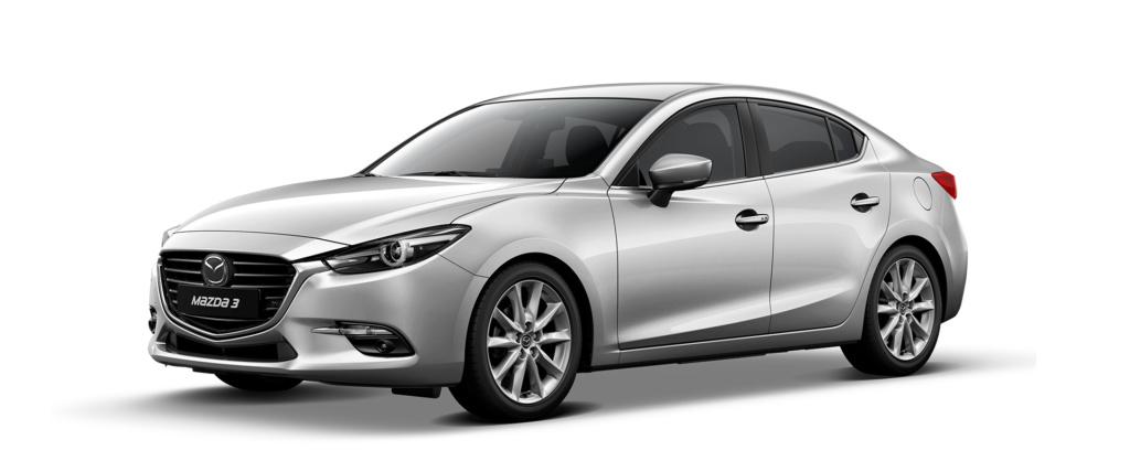 Mazda 3 2019 màu trắng