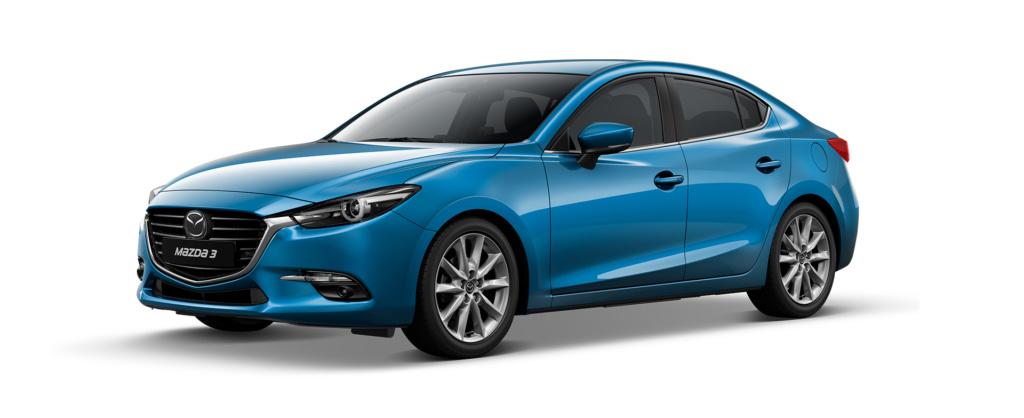 Mazda 3 2019 màu xanh