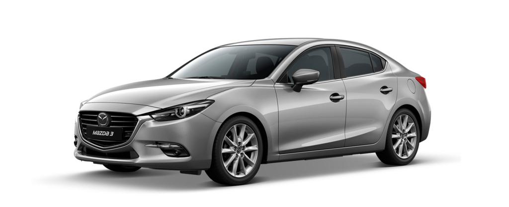 Mazda 3 màu bạc