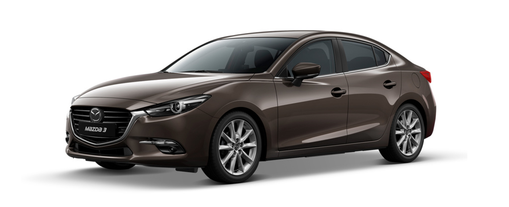 Mazda 3 2019 màu nâu