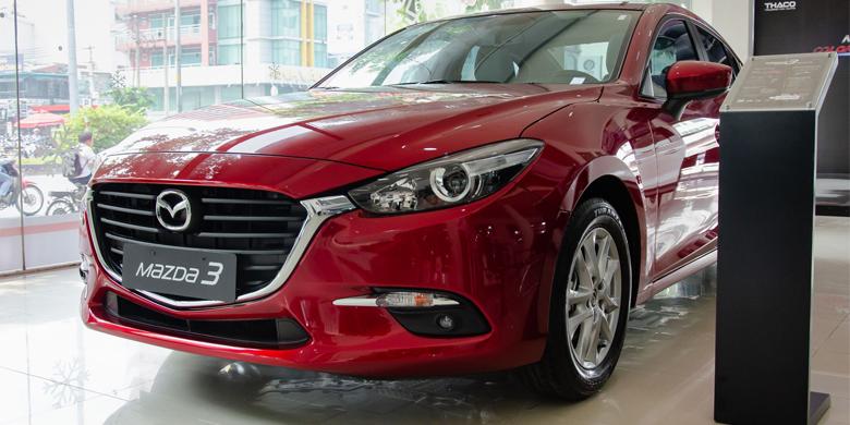 Mazda 3 2019 màu đỏ mới