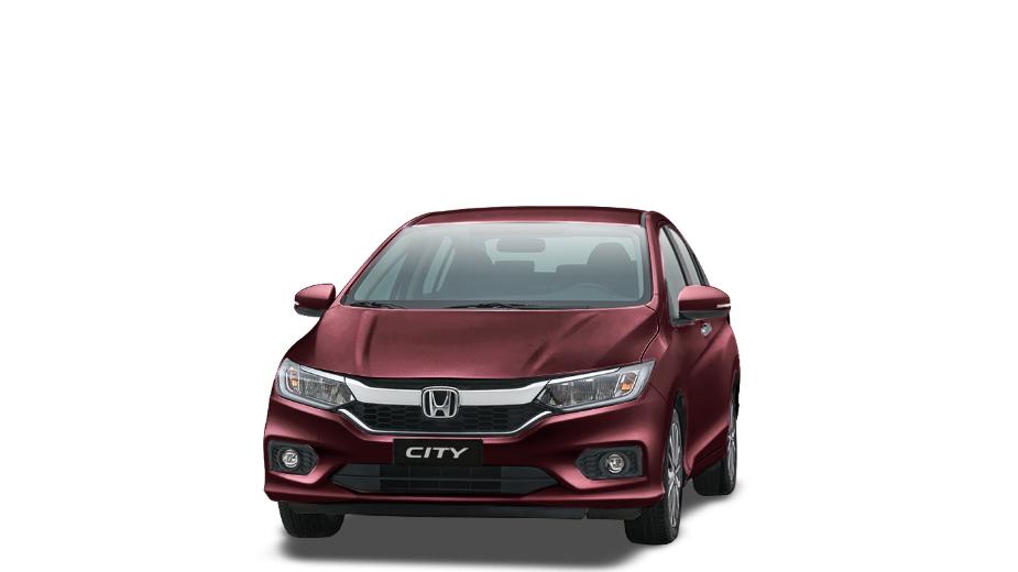 Honda city đỏ