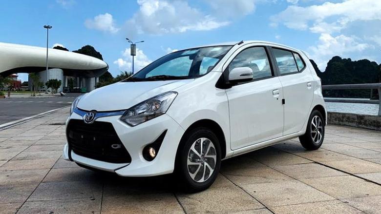 Xe ô tô Toyota Wigo mẫu xe 4 chỗ giá rẻ