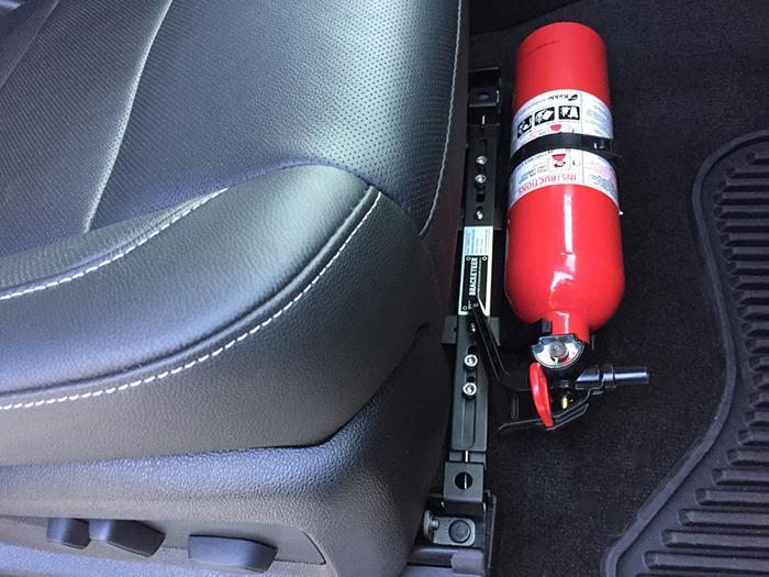 Quy định về bình cứu hỏa trên xe ô tô