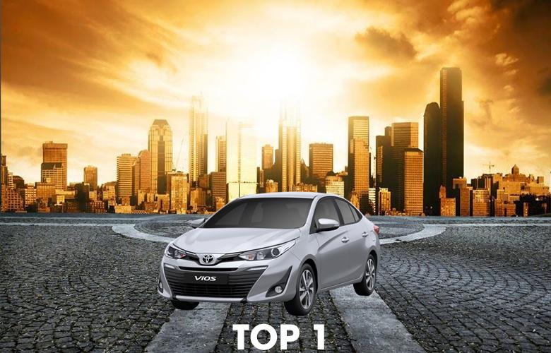 Xe Toyota Vios bán chạy nhất 10 năm qua
