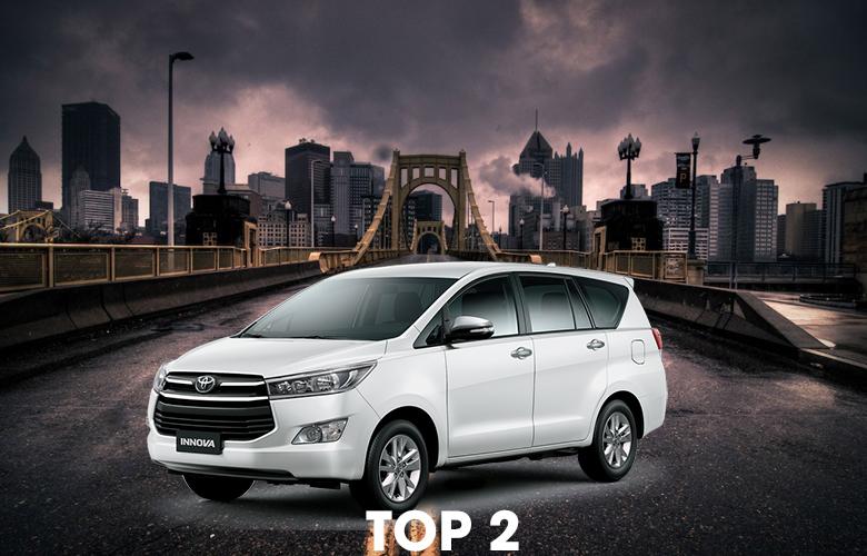 Xe Toyota Innova bán chạy nhất 10 năm qua